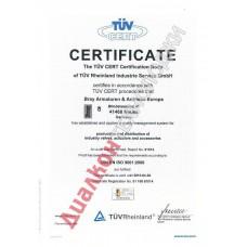 Сертификаты Bray Controls